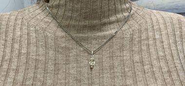 Подвеска Ангелочек – маленький приятный подарок из серебра