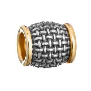 Бусина Корзиночное плетение а-064-чп