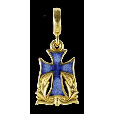 Бусина Процветший крест 05020