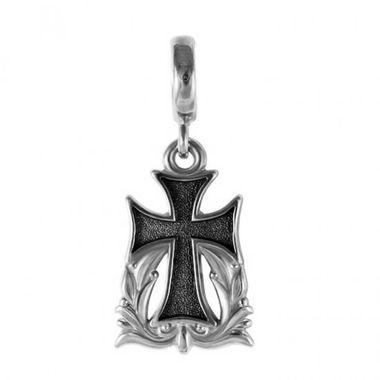 Бусина Процветший крест 15026