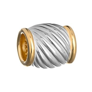 Бусина Спираль а-009-чп
