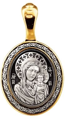 Господь Вседержитель. Казанская икона Божией Матери