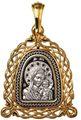 Казанская икона Божией Матери Образок 08216