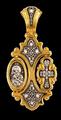Подвеска: Хризма Владимирская икона Божией Матери Святитель Николай