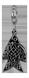 Подвеска-Бусина Рыбка 15005