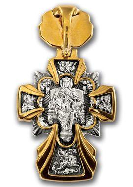 Распятие Икона Божией Матери Державная