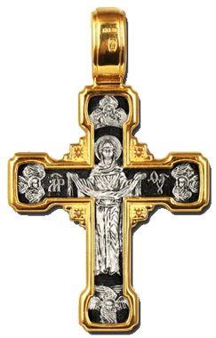 Распятие Христово. Деисус. Спас Нерукотворный. Покров Пресвятой Богородицы. Православный крест
