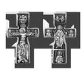 Распятие Христово Николай Чудотворец Три Святителя