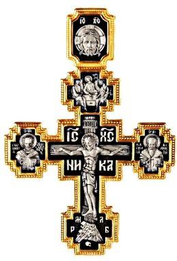 Распятие Христово. Покров Пресвятой Богородицы Шесть святых