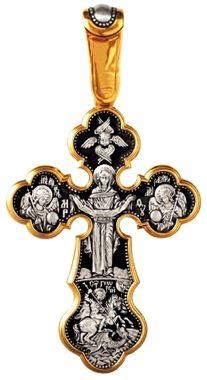 Распятие Христово. Покров Пресвятой Богородицы Вмч. Георгий Победоносец