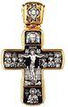 Распятие Христово с предстоящими. Апостол Петр Икона Божией Матери Знамение с пророками