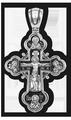 Распятие Христово с предстоящими Архангел Михаил