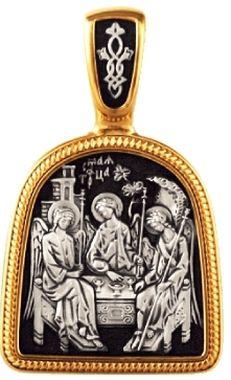 Святая Троица. Образок